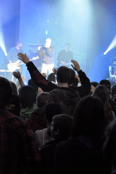 Youth Ministry worship experience