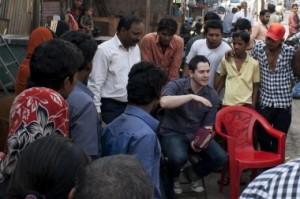 Youth worship leader Micah Watson in Mumbai, India