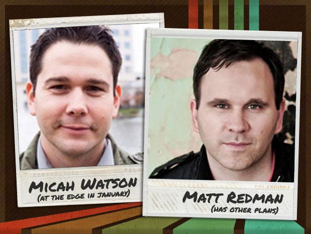 Micah Watson and Matt Redman